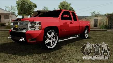 Chevrolet Silverado Tuning pour GTA San Andreas