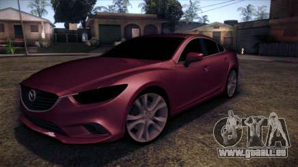 Mazda 6 2013 HD v0.8 beta pour GTA San Andreas