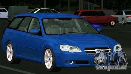 Subaru Legacy Touring Wagon 2003 pour GTA San Andreas