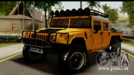 Hummer H1 6-Wheel für GTA San Andreas