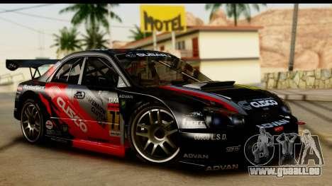 Subaru Impreza WRX STI 2003 JGTC pour GTA San Andreas