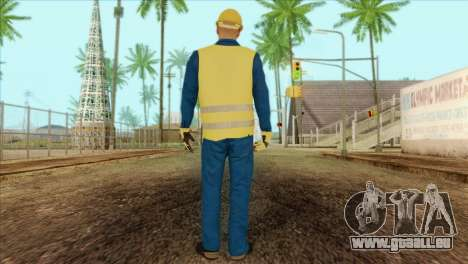 Takedown Redsabre NPC Shipworker v1 für GTA San Andreas zweiten Screenshot