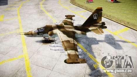 Die su-39 für GTA 4 linke Ansicht