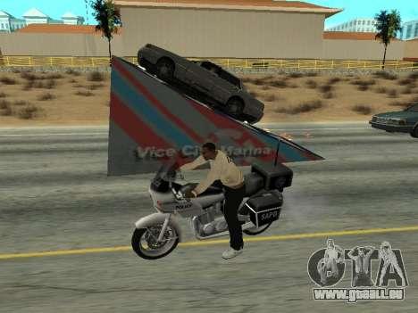 Sauts pour GTA San Andreas deuxième écran