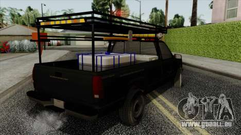 Chevrolet Silverado Military Utility Truck 1990 pour GTA San Andreas laissé vue