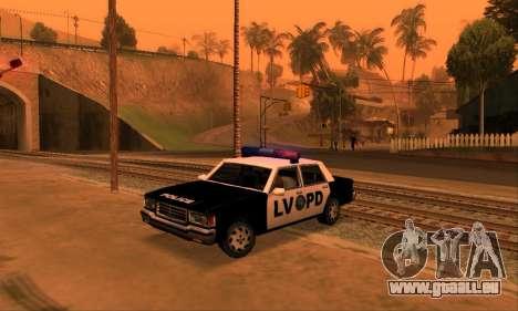Beta LVPD Police für GTA San Andreas