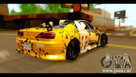 Nissan Silvia S15 Kagamine Rin Itasha pour GTA San Andreas laissé vue
