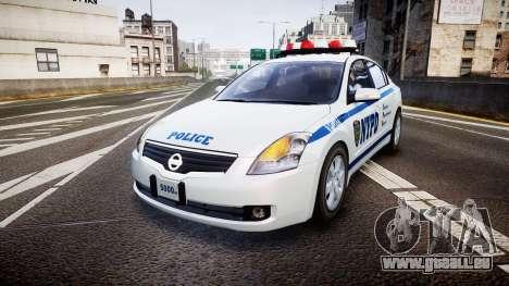 Nissan Altima Hybrid NYPD pour GTA 4