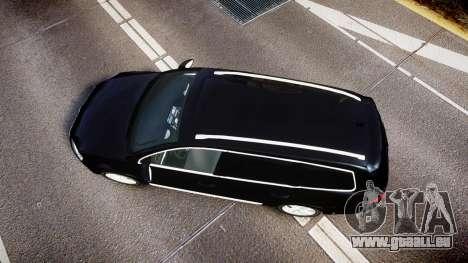 Volkswagen Passat B7 Police 2015 [ELS] unmarked für GTA 4 rechte Ansicht