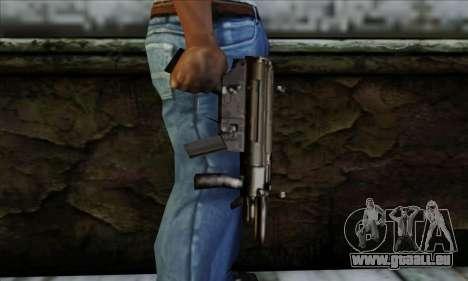 MP5K From LCS pour GTA San Andreas troisième écran