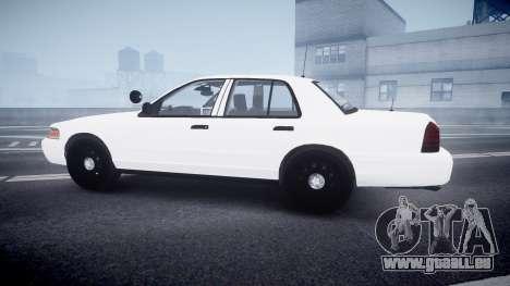 Ford Crown Victoria LCPD Unmarked [ELS] pour GTA 4 est une gauche