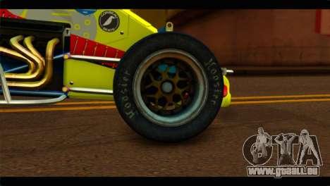 Larock Sprinter pour GTA San Andreas sur la vue arrière gauche