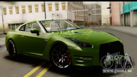 Nissan GT-R Dragster pour GTA San Andreas
