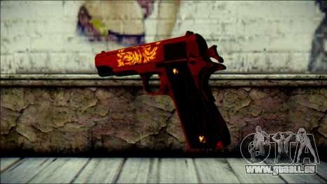 Dual Colt Red Dragon CF pour GTA San Andreas deuxième écran