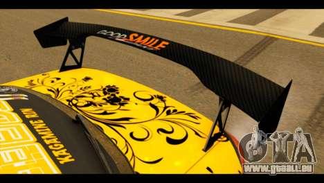 Nissan Silvia S15 Kagamine Rin Itasha pour GTA San Andreas vue arrière