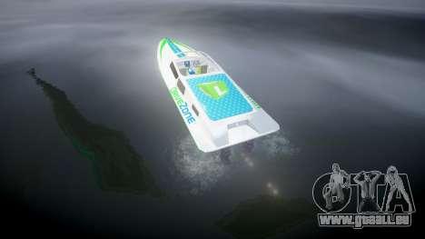 Motorboot für GTA 4 hinten links Ansicht