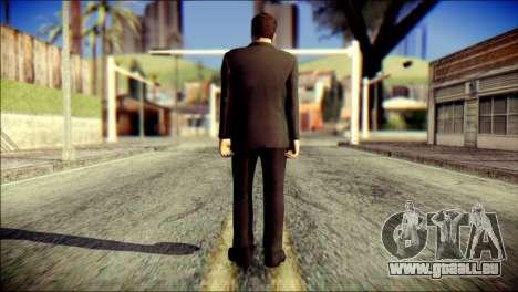 Tony Stark Skin pour GTA San Andreas deuxième écran