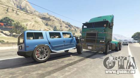 GTA 5 Schweren LKW und Bussen fünfter Screenshot