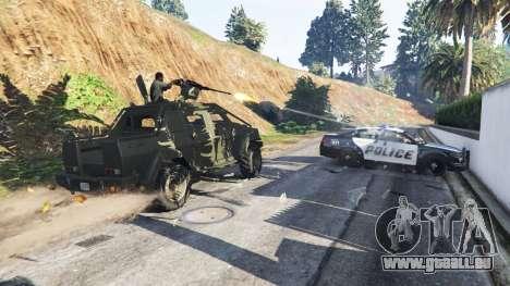 GTA 5 Lamar Gunner zweite Screenshot
