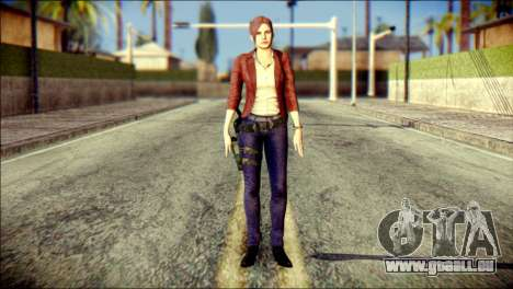 Claire Redfield from Resident Evil für GTA San Andreas