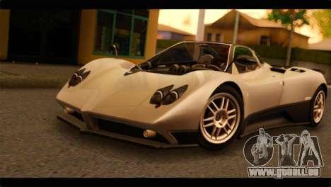 Pagani Zonda F für GTA San Andreas