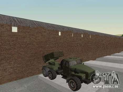 Ural 375 Grad MLRS für GTA San Andreas