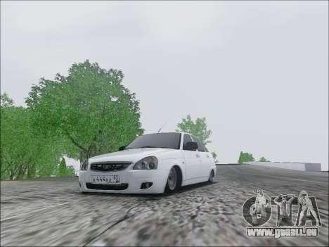 Lada Priora Hatchback für GTA San Andreas linke Ansicht