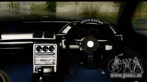 Nissan Skyline R32 für GTA San Andreas Innenansicht