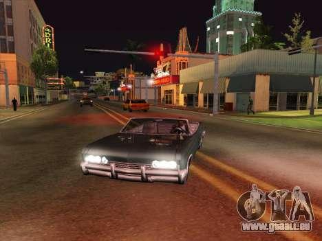 HQ ENB Series v2 pour GTA San Andreas troisième écran