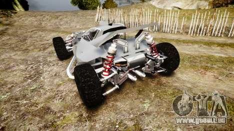 Buggy X für GTA 4 hinten links Ansicht