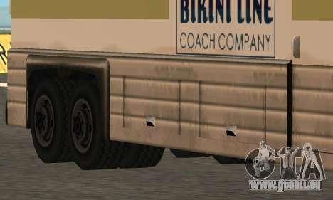 Coach Fixed pour GTA San Andreas laissé vue