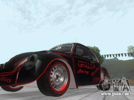 Volkswagen Super Beetle Grillos Racing v1 pour GTA San Andreas laissé vue
