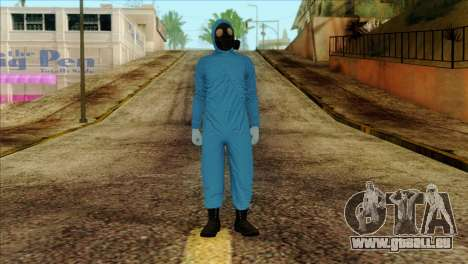 Skin 1 from Heists GTA Online DLC pour GTA San Andreas