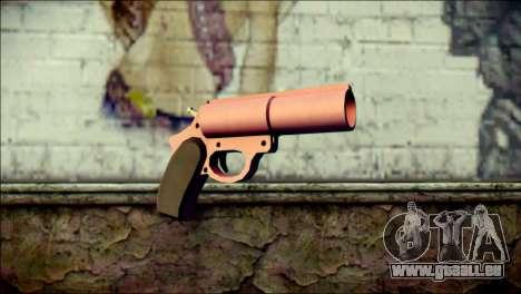 Pink Lanza Bengalas from GTA 5 pour GTA San Andreas