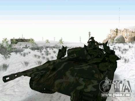 Panther für GTA San Andreas Rückansicht