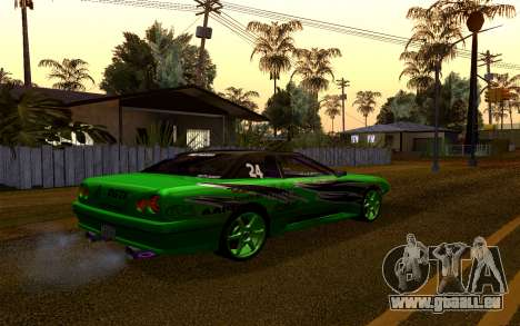 DGTK Elegy v1 pour GTA San Andreas vue arrière