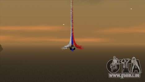 Die Flagge von Russland für Flugzeuge für GTA San Andreas
