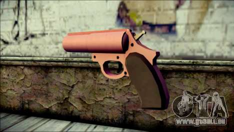 Pink Lanza Bengalas from GTA 5 pour GTA San Andreas deuxième écran