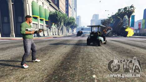 Vehicle Cannon pour GTA 5