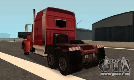 PS2 Linerunner pour GTA San Andreas laissé vue