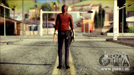 Claire Redfield from Resident Evil für GTA San Andreas zweiten Screenshot