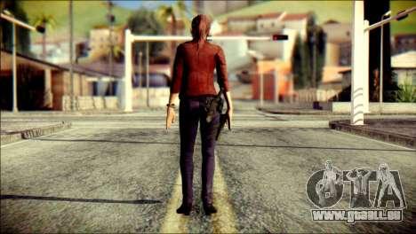 Claire Redfield from Resident Evil pour GTA San Andreas deuxième écran