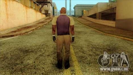 Coach from Left 4 Dead 2 pour GTA San Andreas deuxième écran