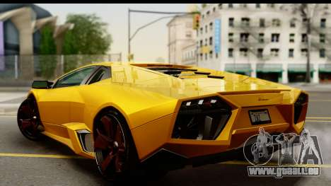Lamborghini Reventon 2008 für GTA San Andreas linke Ansicht
