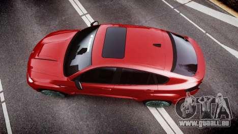 BMW X6 Tycoon EVO M 2011 Hamann pour GTA 4 est un droit