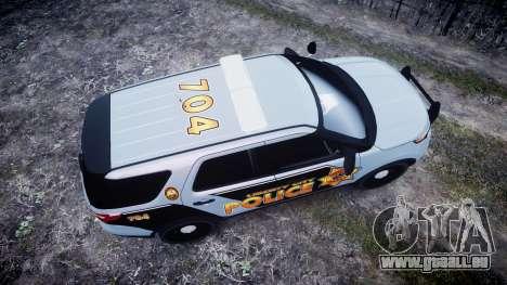 Ford Explorer Police Interceptor [ELS] marked pour GTA 4 est un droit