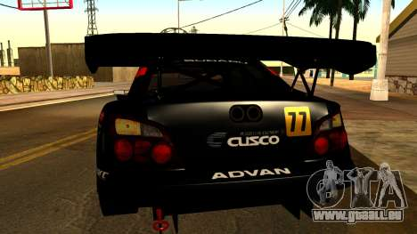 Subaru Impreza WRX STI 2003 JGTC für GTA San Andreas Seitenansicht