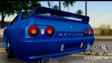 Nissan Skyline R32 für GTA San Andreas rechten Ansicht