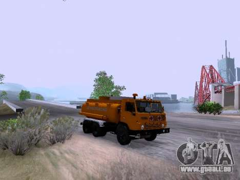 KamAZ 53212 für GTA San Andreas zurück linke Ansicht