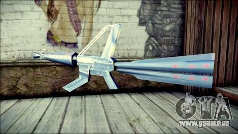 Laser Gun pour GTA San Andreas deuxième écran